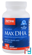 Max DHA, Jarrow Formulas, 90 Softgels