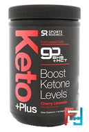 Keto Plus, GO BHB + MCT, Cherry Limeade, Sports Research, 1.07 lbs (484.6 g)