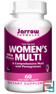 Women's Multi, Jarrow Formulas, 60 Easy-Solv Tablets