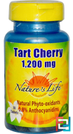 Tart Cherry, 1,200 mg, Nature's Life, 30 Tablets