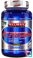 100% Pure Japanese-Grade Glutamine Powder, ALLMAX Nutrition, 3.5 oz, 100 g