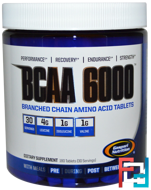 BCAA 6000, Gaspari Nutrition, 180 tablets
