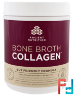 Bone Broth Collagen, Pure, Dr. Axe / Ancient Nutrition, 15.9 oz (450 g)