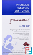 Prenatal Sleep Aid, Soft Chew, Chocolate, Premama, 28 Chews