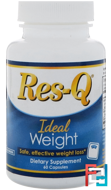 Ideal Weight, Res-Q, 60 Capsules