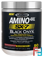 Amino 4XL, SX-7, Black Onyx, Muscletech, 9.35 oz, 265 g