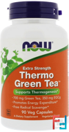 Thermo Green Tea, Extra Strength, Now Foods, 90 Veg Capsules