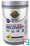 Organic Plant-Based Recovery, Blackberry Lemonade, Garden of Life, Sport, 15.7 oz (446 g)