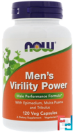 Men's Virility Power, Now Foods, 120 Veg Capsules