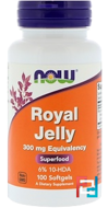Royal Jelly, Now Foods, 300 mg, 100 Softgels