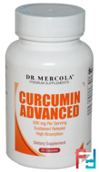 Curcumin Advanced, 500 mg, Dr. Mercola, 30 Capsules