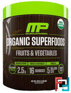 Organic Superfoods, Fruits & Vegetables, MusclePharm Natural, 0.49 lbs, 222 g