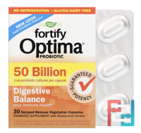 Primadophilus Optima, Digestive Balance, Nature's Way, 50 Billion, 30 Delayed Release Veggie Caps