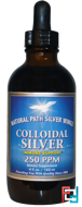 Colloidal Silver, 250 ppm, Natural Path Silver Wings, 4 fl oz (120 ml)
