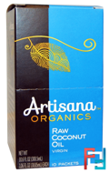 Raw Coconut Oil, Virgin, Artisana, Organics, 10 Packets, 1.06 fl oz (30.05 ml) Each