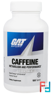 Caffeine Metabolism and Performance, Essentials, GAT, 100 Tablets