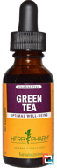 Green Tea, Alcohol-Free, Herb Pharm, 1 fl oz, 29.6 ml