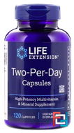 Two-Per-Day Capsules, Life Extension, 120 Capsules