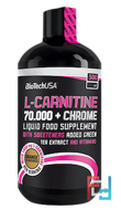 Liquid L-Carnitine 100000 ml, BioTechUSA, 500 ml