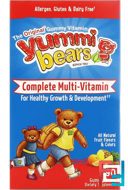 Yummi Bears, Complete Multi-Vitamin, Natural Fruit Flavors, Hero Nutritional Products, 90 Gummy Bears