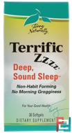 Terry Naturally, Terrific Zzzz, EuroPharma, 30 Softgels