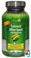 Turmeric After·Sport, With Magnesium, Irwin Naturals, 60 Liquid Soft-Gels