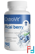 Acai berry, OstroVit, 90 tablets