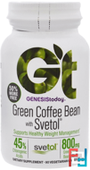 Green Coffee Bean with Svetol, Genesis Today, 90 Vegetarian Capsules