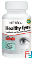Healthy Eyes with Lutein, 21st Century, 60 Tablets