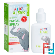 Kid's Xlear, Saline Nasal Spray, Xlear, .75 fl oz, 22 ml