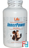 Durk Pearson & Sandy Shaw's, InnerPower with Stevia Drink Mix, Tropical Fruit-Flavored, Life Enhancement, 1 lb 3 oz, 549 g
