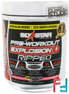 Pre-Workout Explosion Ripped, Six Star, 6.51 oz, 185 g
