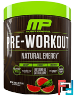 Pre-Workout, Natural Energy, MusclePharm Natural, 0.77 lbs, 348 g
