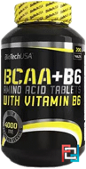 BCAA + B6, BioTech USA, 340 tablets
