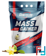 Mass Gainer, GeneticLab, 3000 g