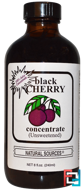 Black Cherry Concentrate, (Unsweetened), Natural Sources, 8 fl oz (240 ml)
