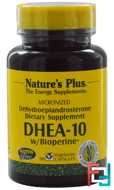 DHEA-10 With Bioperine, Nature's Plus, 90 Veggie Caps