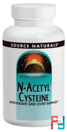 N-Acetyl Cysteine, Source Naturals, 600 mg, 120 Tablets