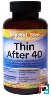 Thin After 40, Crystal Star, 60 Veggie Caps