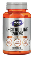 L-Citrulline, Now Foods, 1200 mg, 120 Tablets