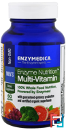 Enzyme Nutrition Multi-Vitamin, Men's, Enzymedica, 60 Capsules