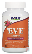 EVE, Superior Women's Multi, Now Foods, 180 Tablets