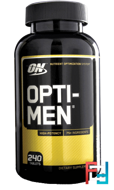 Opti-Men, Optimum Nutrition, (US), 240 Tablets