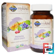Mykind Organics, Prenatal Once Daily, Garden of Life, 90 Vegan Tablets