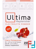 Ultima Replenisher Electrolyte Powder, Ultima Health Products, 20 Packets, 0.12 oz, 3.4 g