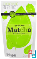 Organic Matcha, Pure Green Tea, Organic Evolution, 4.23 oz, 120 g