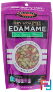 Dry Roasted Edamame, Goji Blend, Seapoint Farms, 3.5 oz, 99 g
