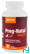 PregNatal Tablets, Jarrow Formulas, 180 Tablets
