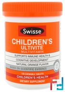 Children's Ultivite Multivitamin, Swisse, 120 Chewable Tablets