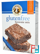 GlutenFree Brownie Mix, King Arthur Flour, 17 oz (482 g)